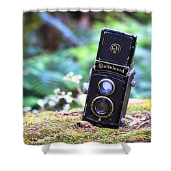 Shower Curtain featuring the photograph Rolleicord 2 by Keith Hawley
