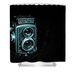 Rolleicord Shower Curtain