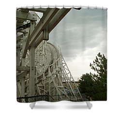 Roller Coaster 5 Shower Curtain