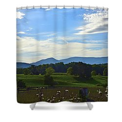 Rolling Hills Shower Curtain