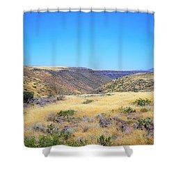 Rolling Landscape Shower Curtain
