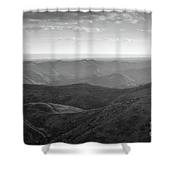 Rolling Mountain Shower Curtain