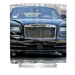 Rolls - Royce Wraith Coupe 2016 Shower Curtain