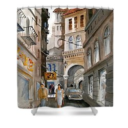 Roma 01 Shower Curtain