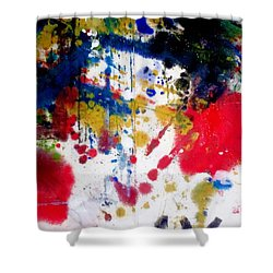 Romak Abstract Shower Curtain