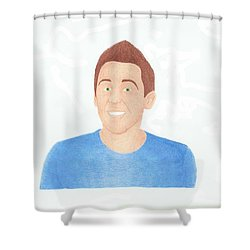Roman Atwood Shower Curtain