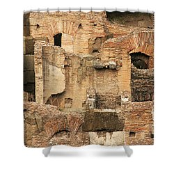 Shower Curtain featuring the photograph Roman Colosseum by Silvia Bruno