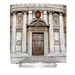 Roman Doors - Door Photography - Rome, Italy Shower Curtain