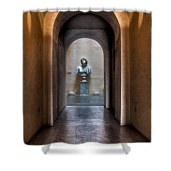 Roman Entry Shower Curtain