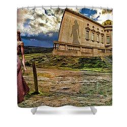 Roman Goddess Shower Curtain by Blake Richards