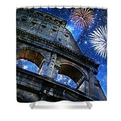 Roman Holiday Shower Curtain by Aurelio Zucco