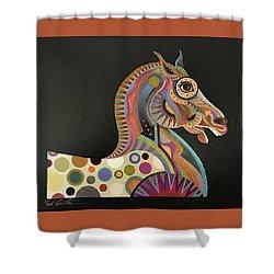 Roman Horse Shower Curtain