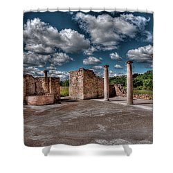 Roman Village  Shower Curtain