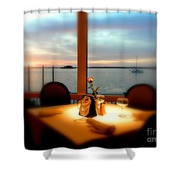 Shower Curtain featuring the photograph Romance by Elfriede Fulda