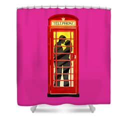 Romance In London By Starlight Shower Curtain by Mark E Tisdale
