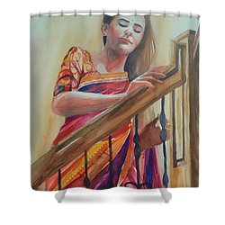 Romance Is In The Air Shower Curtain