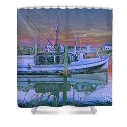 Romance Of The Sea Shower Curtain