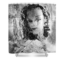 Romancing The Ice Princess Shower Curtain