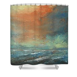 Romancing Turner Shower Curtain by Jane See