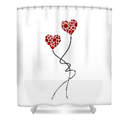 Romantic Art - You Are The One - Sharon Cummings Shower Curtain