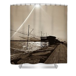 Romantic Ballad Shower Curtain