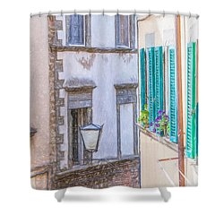 Romantic Cortona Shower Curtain