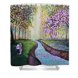 Romantic Moment Shower Curtain