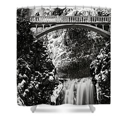 Romantic Moments At The Falls Shower Curtain