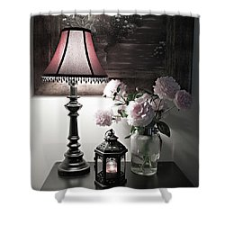 Romantic Nights Shower Curtain by Sherry Hallemeier