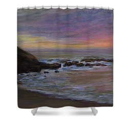 Romantic Shore Shower Curtain