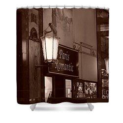Romantica Parigi Shower Curtain