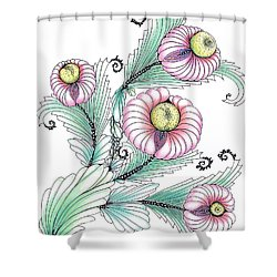Romashki Shower Curtain
