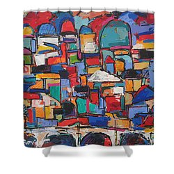 Rome, Bridge Of Angels Shower Curtain