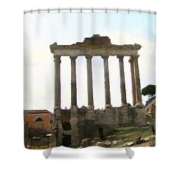 Rome The Eternal City Shower Curtain