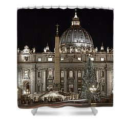 Rome Vatican Shower Curtain