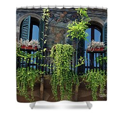Shower Curtain featuring the photograph Romeo And Juliet  by Frank Stallone