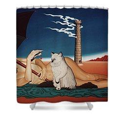 Romeo's Nightmare Shower Curtain
