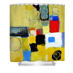 Shower Curtain featuring the painting Ron The Rep by Cliff Spohn