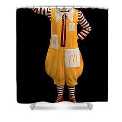 Ronald Mcdonald Shower Curtain by Andrew Fare