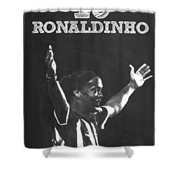 Ronaldinho Shower Curtain
