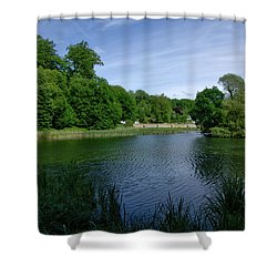 Rood Klooster Shower Curtain