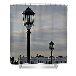 Roof Lights Shower Curtain