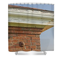 Shower Curtain featuring the photograph Roofline by Peter J Sucy