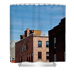 Rooflines No. 2 Shower Curtain