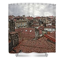 Roofs Over Santiago Shower Curtain
