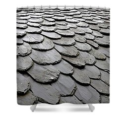 Rooftiles  Shower Curtain