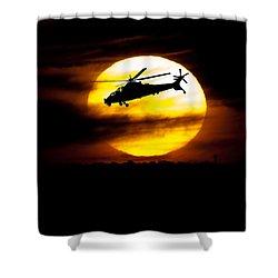 Rooivalk Sunset Shower Curtain