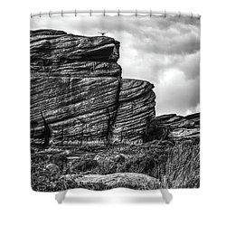 Rook Rock Shower Curtain