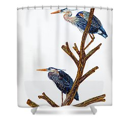 Rookery Shower Curtain