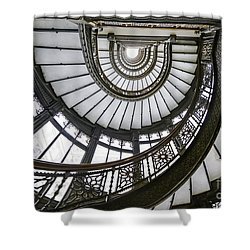 Rookery Stairway Shower Curtain
